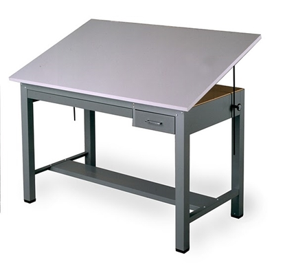 Picture of Mayline 7724B Ranger Drafting Table