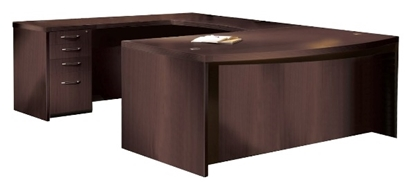 "Picture of Safco Aberdeen 72""W U Shaped Desk"