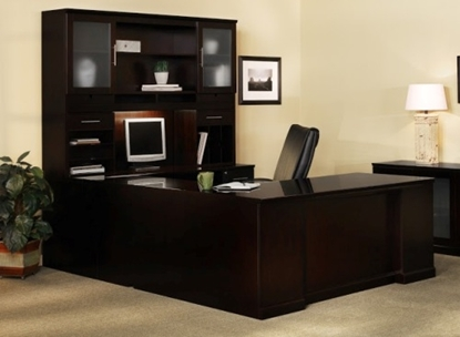 Picture of Safco ST7 U Shaped Desk with Hutch