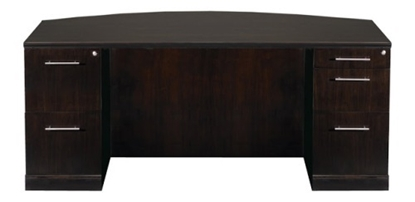 Picture of Safco SDBBF72 Bow Front Executive Desk