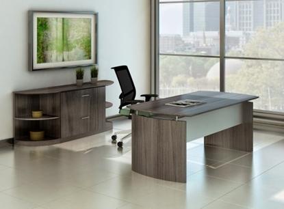 Picture of Safco MND72-MVLF Desk & Credenza