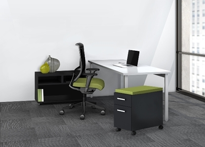 Picture of e5K3  Reconfigurable Office with Open Storage