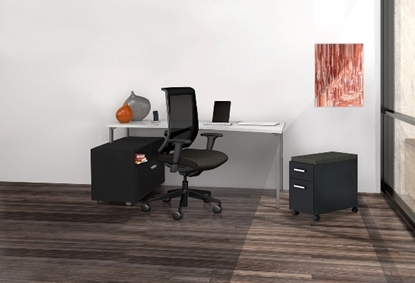 Picture of e5K5 Reconfigurable Office with Lateral File