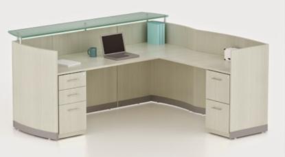 Picture of Safco MNRSLBF L Shaped Reception Desk