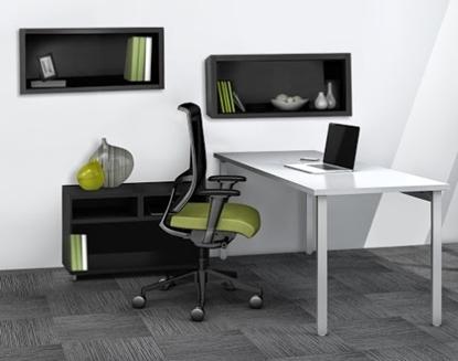 Picture of e5K6 Reconfigurable Desk & Hutch Set