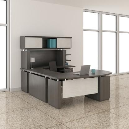 """Picture of Safco STL4 66""""W U-Shaped Desk"""