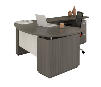 "Picture of Safco STL7 66""W  L-Shaped Desk"