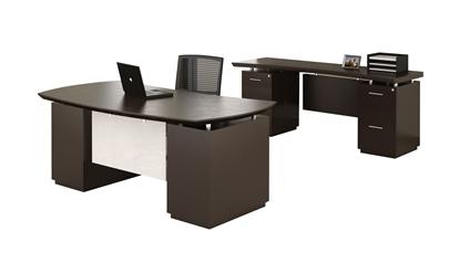 Picture of Safco STL9 Desk & Credenza Set
