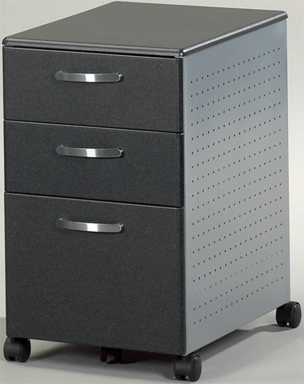 Picture of 992 3 Drawer Pedestal File with Wheels