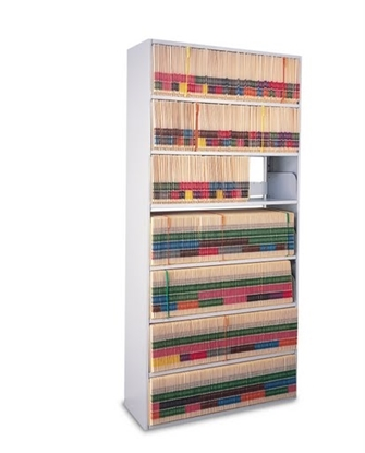 Picture of EFL3612767SDV 7-Tier Four-Post Shelving