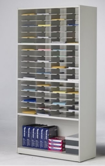Picture of SRT4280B 72 Pocket Mail Cabinet