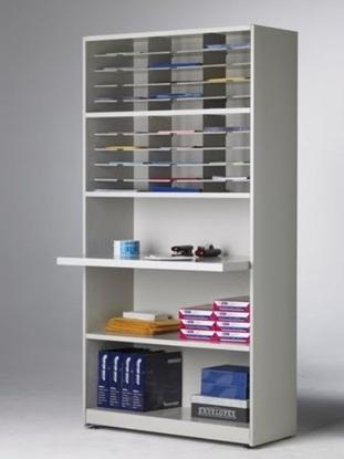 "Picture of SRT4280C 42"" 30 Pocket Mail Cabinet"