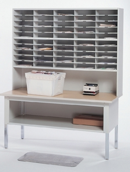 """Picture of TB60 60"""" Height Adjustable Mail Table"""
