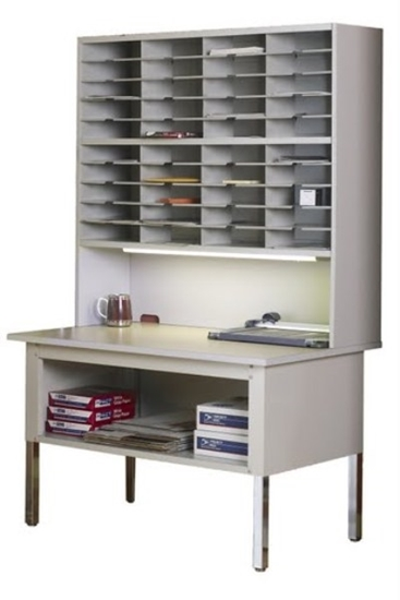 """Picture of TB48  48"""" Office Mail Table"""