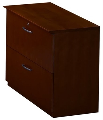 "Picture of Safco VLF 36"" Wood Veneer Lateral File"