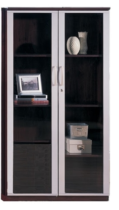 Picture of Safco VCG Storage Cabinet with Glass Doors