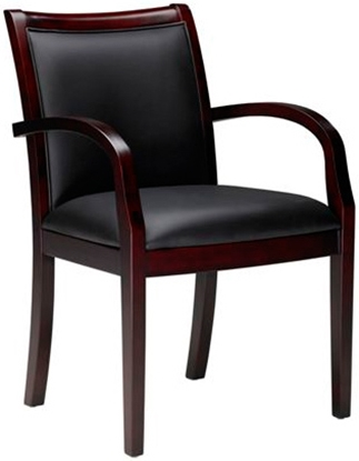 Picture of Mayline VSC7A Mercado Leather Guest Chair