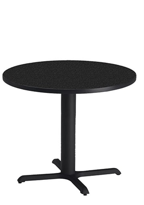 "Picture of Safco CA36RLB Bistro 36"" Round Lunch Room Table"