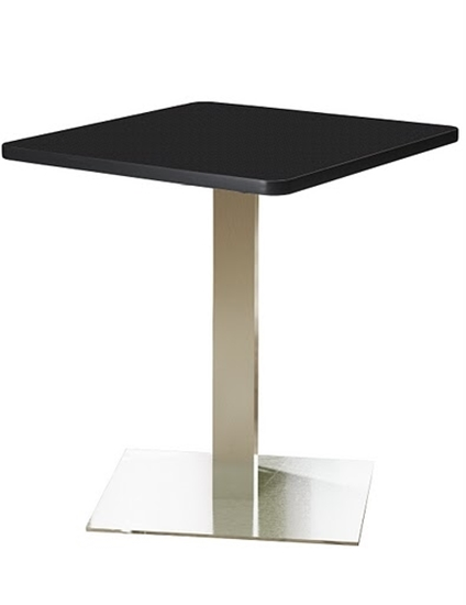 """Picture of Safco CA30SLS Bistro 30"""" Square Lunch Room Table"""