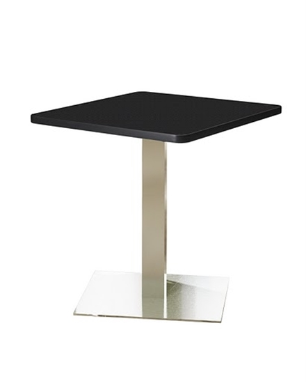 """Picture of Safco CA36SLS Bistro 36"""" Square Lunch Room Table"""