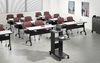 """Picture of Safco LC24 67"""" Crescent Training Room Table"""