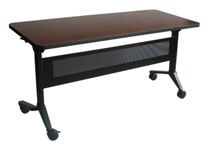 "Picture of Safco LF1872T Flip-N-Go 72"" Rectangular Training Table"