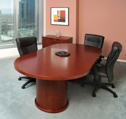 Picture of Safco MCTDB3672 6' Wood Conference Room Table