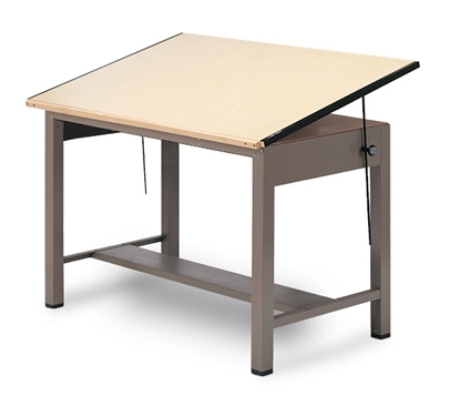 Picture of Mayline 7736 Drawing Table