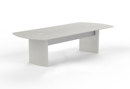 Picture of Safco MNC8-PM33 8' Conference Table with Power and Data Ports