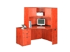 Picture of Marquis ML134  Corner Desk with Hutch and Mobile Pedestal