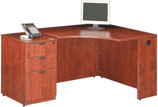 Picture of Marquis ML134  Corner Desk with Mobile Pedestal