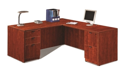 "Picture of Marquis ML106 66""W L-Shaped Desk"