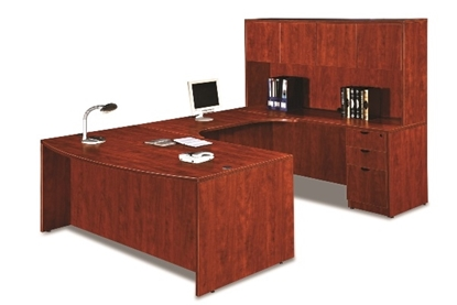 Picture of Marquis ML189  U-Shaped Desk with Hutch
