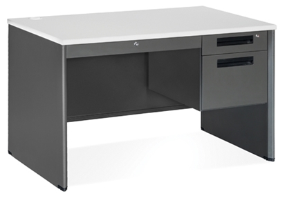 Picture of OFM 77348 Compact Single Pedestal Desk