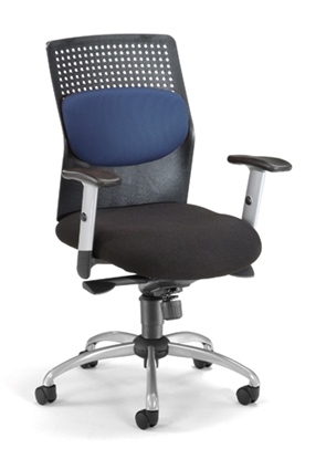 Picture of OFM 651 Executive Chair with Silver Accents