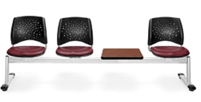 Picture of OFM 324T-VAM 3 Seat Bench with Table
