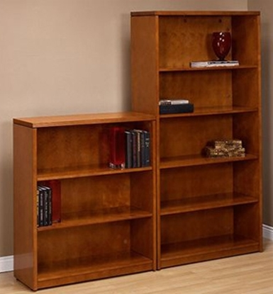 Picture of Office Star KEN55 Wood Veneer Bookcase