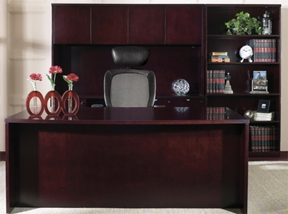 Picture of Office Star KEN-89 Wood Veneer Executive Office Desk