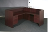 Picture of Office Star NAPTYP19 L-Shaped Reception Desk
