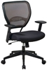 Picture of Office Star 55-38N17 Executive Mesh Office Chair