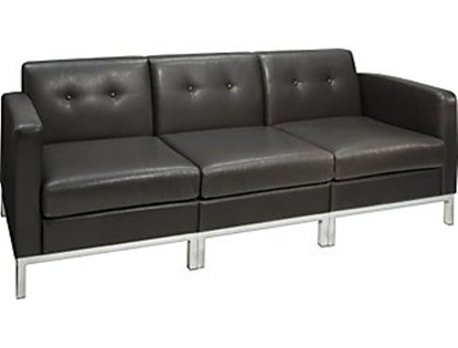 Picture of Office Star WST51LF-WST51N-WST51RF Wall Street Couch