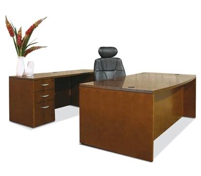 Picture of Offices to Go VF7240BDS Executive Office Desk