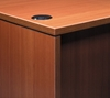 """Picture of Offices to Go SL7136DS 71"""" L Shaped Desk with Drawers"""