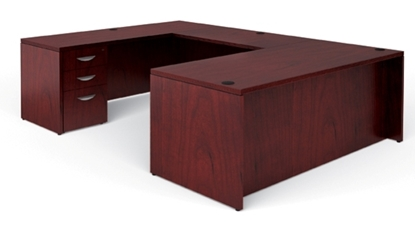 Picture of Offices to Go VF7236DS U Shaped Desk with Drawers
