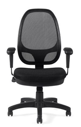 Picture of Offices to Go OTG11641B Mesh Back Chair