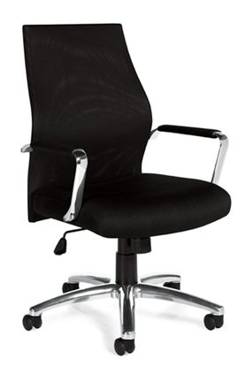 Picture of Offices to Go OTG11657B Mesh Back Chair