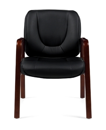Picture of Offices to Go OTG11770B Wood Guest Chair