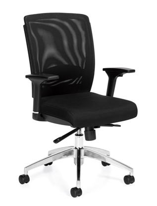 Picture of Offices to Go OTG10904B Mesh Office Chair