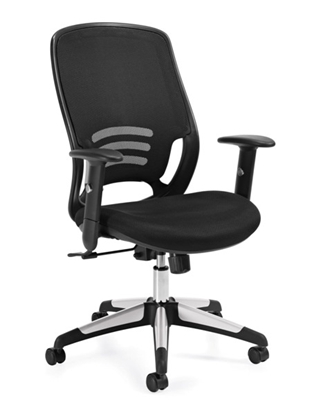 Picture of Offices to Go OTG11685B Mesh Chair