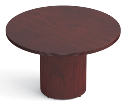 "Picture of Offices to Go VF48R Wood 48"" Round Table"